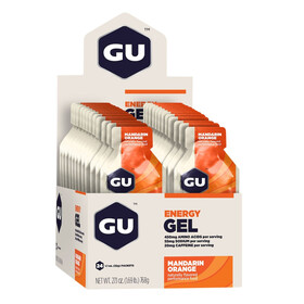 GU Energy Energy Gel Box Mandarin Orange 24x 32g
